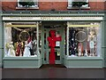 SO8540 : Christmas window display by Philip Halling