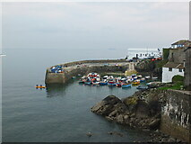 SW7818 : The harbour at Coverack by Gary Rogers