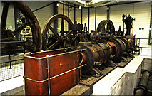 NT2276 : National Museums Collection Centre, Granton - Carmichael steam engine by Chris Allen