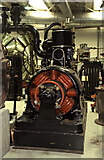 NT2276 : National Museums Collection Centre, Granton - steam engine and dynamo by Chris Allen