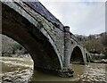 SO5074 : Dinham Bridge crossing the River Teme by Mat Fascione