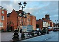 SO5074 : Castle Square at Ludlow by Mat Fascione
