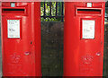 ST7282 : Postboxes, Chipping Sodbury by Derek Harper