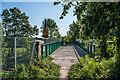 TQ1950 : Accommodation bridge by Ian Capper