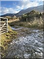 SN8704 : Icy track by Alan Hughes