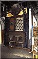 SU4924 : Twyford Pumping Station - water tube boiler by Chris Allen