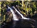 NS3258 : Waterfall on Maich Water by Julian Thomas