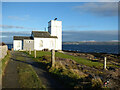 NS1367 : Foghorn house by Thomas Nugent
