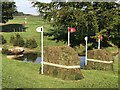TF0305 : Cross-country obstacles at Burghley Horse Trials by Jonathan Hutchins