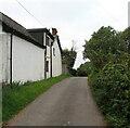 SO3514 : Minor road towards Llanddewi Rhydderch, Monmouthshire by Jaggery