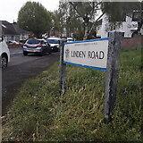 SZ0995 : Moordown: Linden Road by Chris Downer