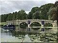 SP4415 : Bladon Bridge during Blenheim Horse Trials by Jonathan Hutchins