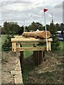 SP4415 : Cross-country fence 9 at Blenheim Horse Trials by Jonathan Hutchins