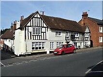 TL7835 : Castle Hedingham buildings [8] by Michael Dibb