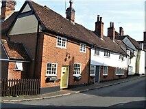 TL7835 : Castle Hedingham houses [14] by Michael Dibb