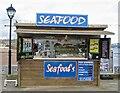 SX8960 : Seafood stall on Paignton pier by Marika Reinholds