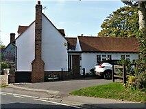 TL7835 : Castle Hedingham houses [45] by Michael Dibb