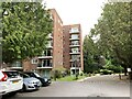 SZ0691 : Flats and visitor parking, Burton Road, Poole by Jonathan Hutchins
