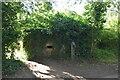 TQ5746 : Pillbox by River Medway by N Chadwick