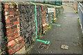SX9164 : Distancing lines, St James school by Derek Harper