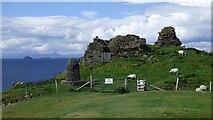 NG4074 : Duntulm Castle by Sandy Gerrard