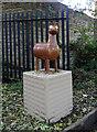 """SE1438 : """"Alpaca"""", Aire Sculpture Trail by habiloid"""