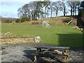 NY9257 : Playing fields and playground at Whitley Chapel by Oliver Dixon