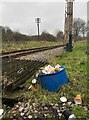 TQ8733 : Dumping ground by Kent and East Sussex Railway by Oast House Archive