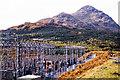 NN3009 : Electricity substation near Inveruglas in 1984 by Trevor Littlewood