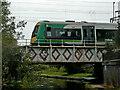 SP0488 : Railway bridge across the Soho Loop in Birmingham by Roger  Kidd