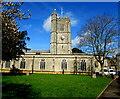 SY2998 : St Mary's Church, Axminster by Jaggery