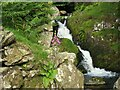 NY3218 : Sty Beck, Stanah by Adrian Taylor