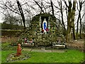 SE1832 : Church of Our Lady and St Peter - Grotto by Stephen Craven