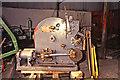 SK3057 : Cromford Wharf Museum - steam winch by Chris Allen