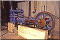 SK3057 : Cromford Wharf Museum - steam fire pump by Chris Allen