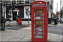 TQ2881 : Telephone Kiosk, Cavendish Square by N Chadwick