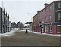 H4572 : Wintry along Dublin Road, Omagh by Kenneth  Allen