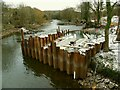 SE2336 : Failure of Newlay Weir (3) by Stephen Craven
