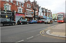 TQ2890 : Colney Hatch Lane, Muswell Hill by David Howard