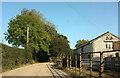 SX8363 : Green lane at Shadrack by Derek Harper