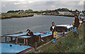 TG4703 : River Waveney, Burgh Castle by Stephen McKay