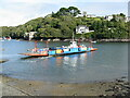SX1252 : Vehicle ferry, Fowey, Cornwall by Clive Perrin