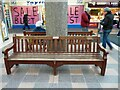 SJ9494 : Commemorative Bench #15 by Gerald England