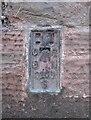 NY5261 : Benchmark, Brampton Police Station by Adrian Taylor