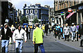 NS3321 : A busy retail centre, Ayr High Street, May 2000 by Mary and Angus Hogg
