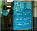 SX9164 : Covid notice, Primark, Torquay by Derek Harper