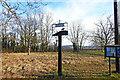 TM2658 : Hoo village sign by Adrian S Pye