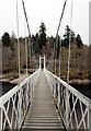 NO4297 : Cambus o' May Suspension Bridge by habiloid