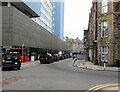 ST3188 : Black taxis, Upper Dock Street, Newport by Jaggery