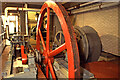 ST1974 : Welsh Industrial and Maritime Museum, Cardiff - horizontal geared haulage engine by Chris Allen